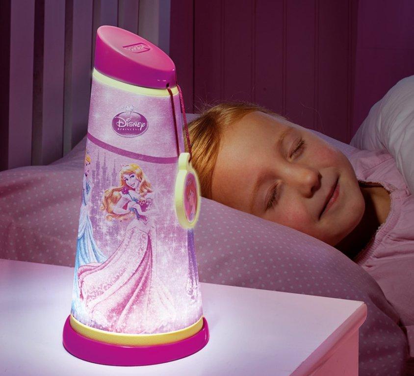 Disney Prinsesse Nattlampe/Lommelykt