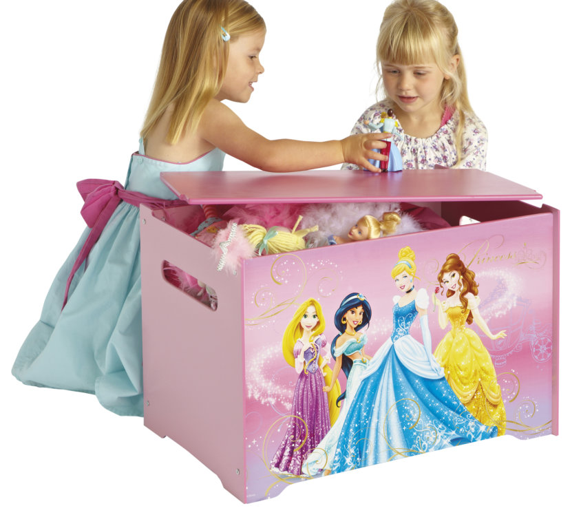 Komplett Barnerom Med Disney Prinsesse Seng