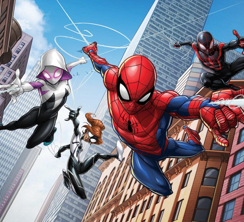 Spider-Man Veggdekor 2