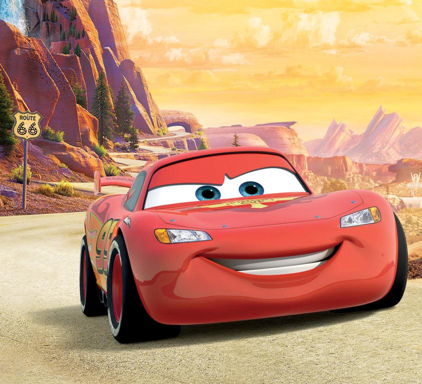Lightning McQueen Veggdekor