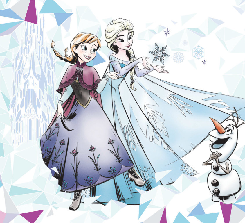 Frozen Veggdekor 2