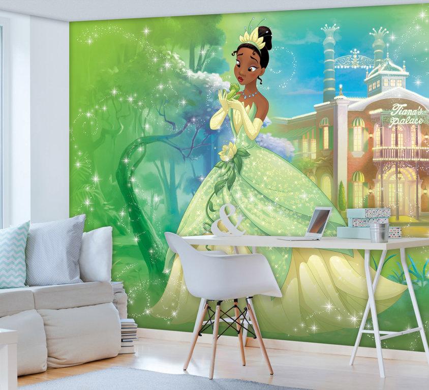 Disney Prinsesse Veggdekor – Tiana