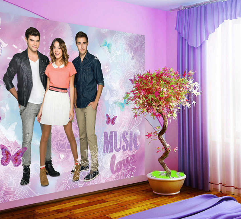 Disney Violetta Veggdekor