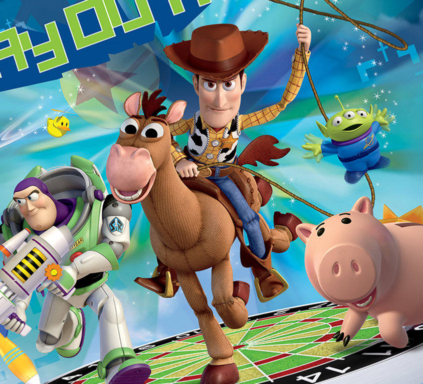 The Toy Story Veggdekor