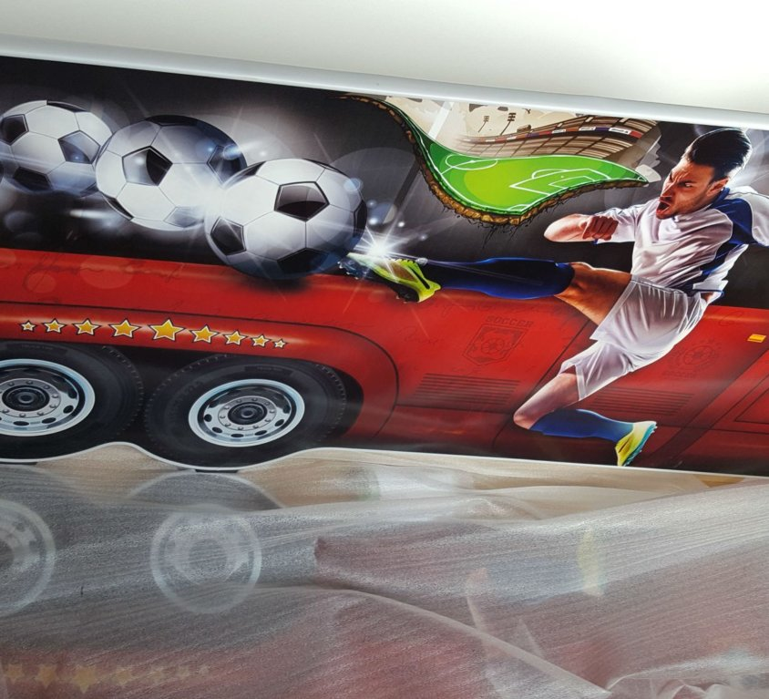 Fotballseng Med Madrass