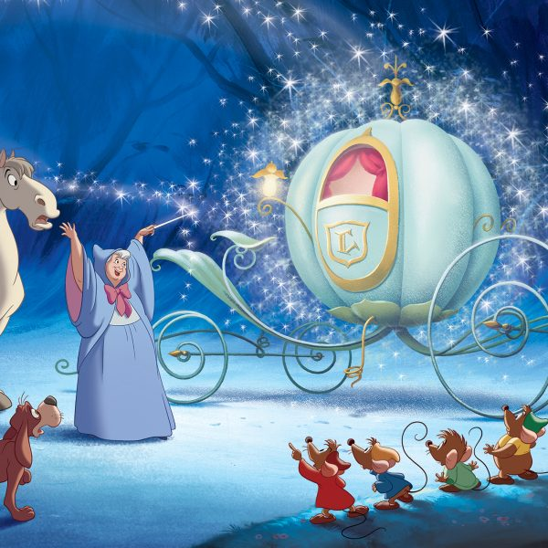 Disney Prinsesse Veggdekor – Askepott