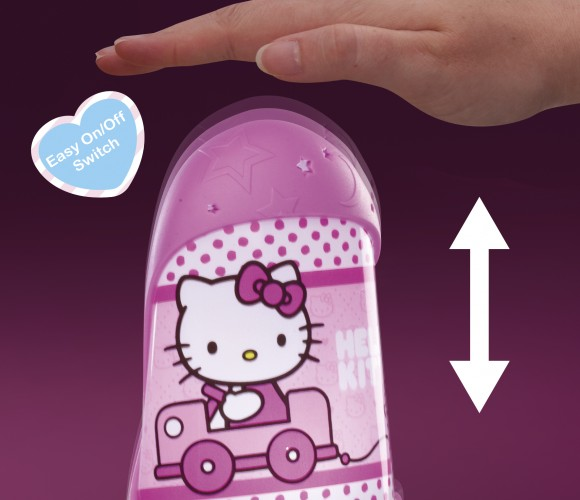 Hello Kitty Nattlampe