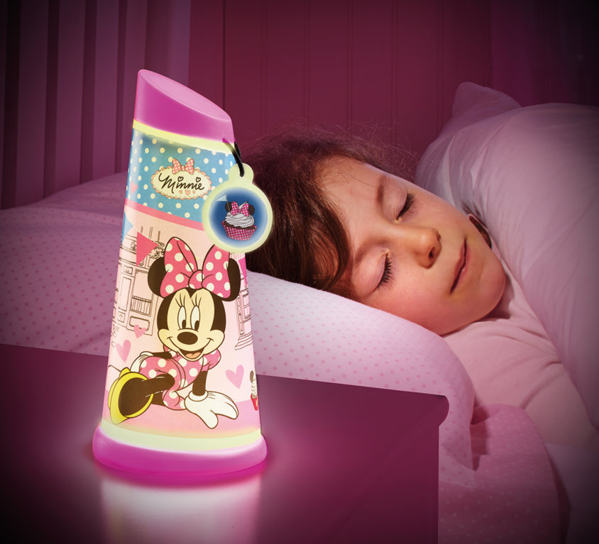 Minnie Mouse Nattlampe/Lommelykt