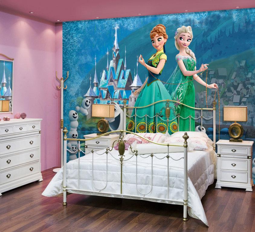Frozen Veggdekor – Anna & Elsa