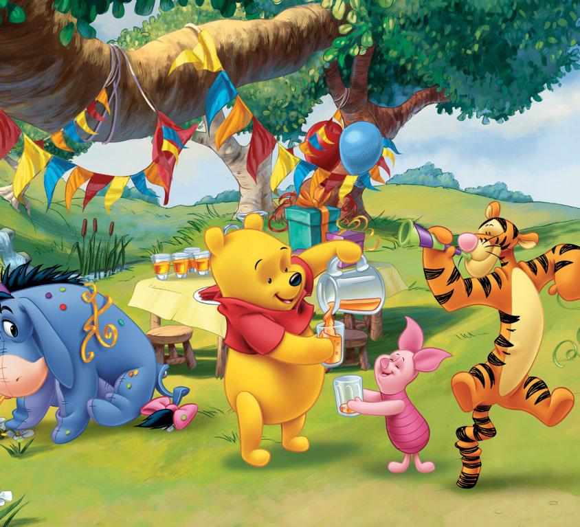 Winnie The Pooh Veggdekor
