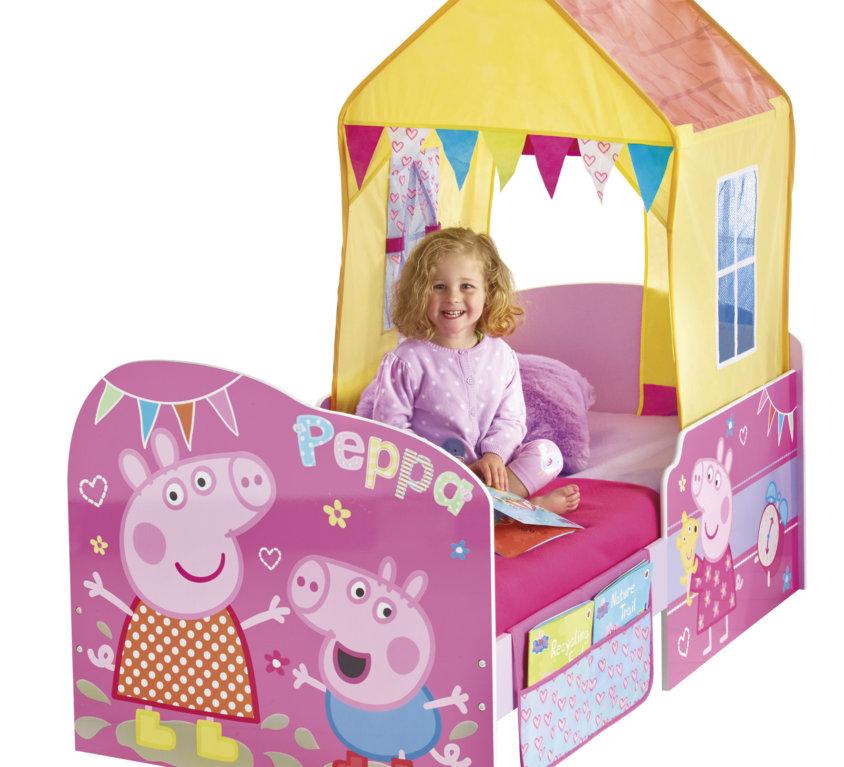 Peppa Pig Barneseng Med Lekehus
