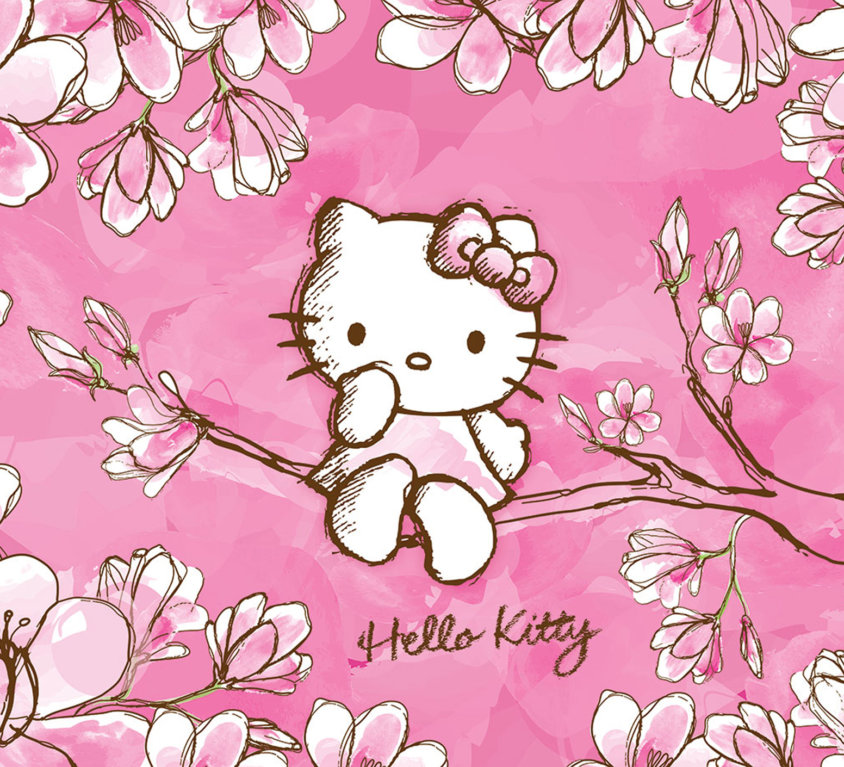 Hello Kitty Veggdekor