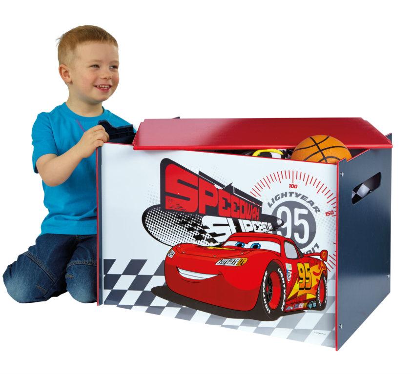 Komplett Barnerom Med Disney Cars Seng