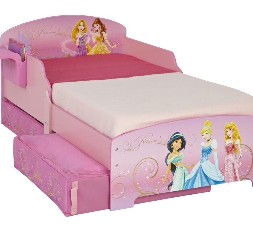 Disney Prinsesse Barneseng Med Oppbevaring