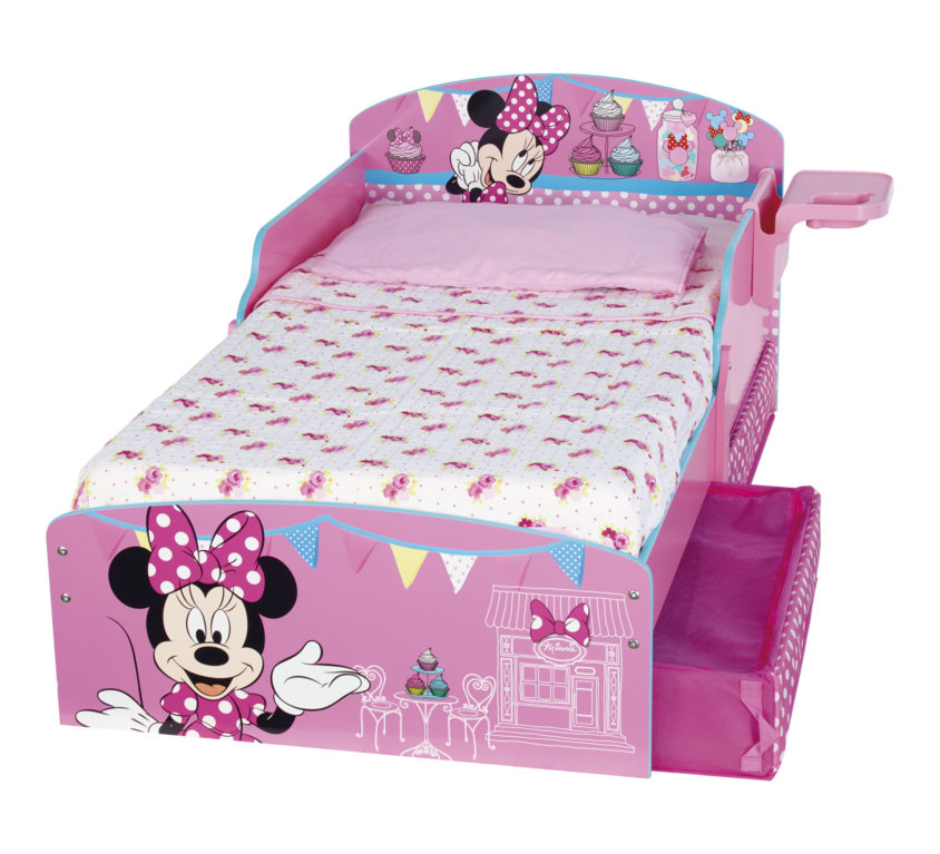 Minnie Mouse Barneseng Med Oppbevaring