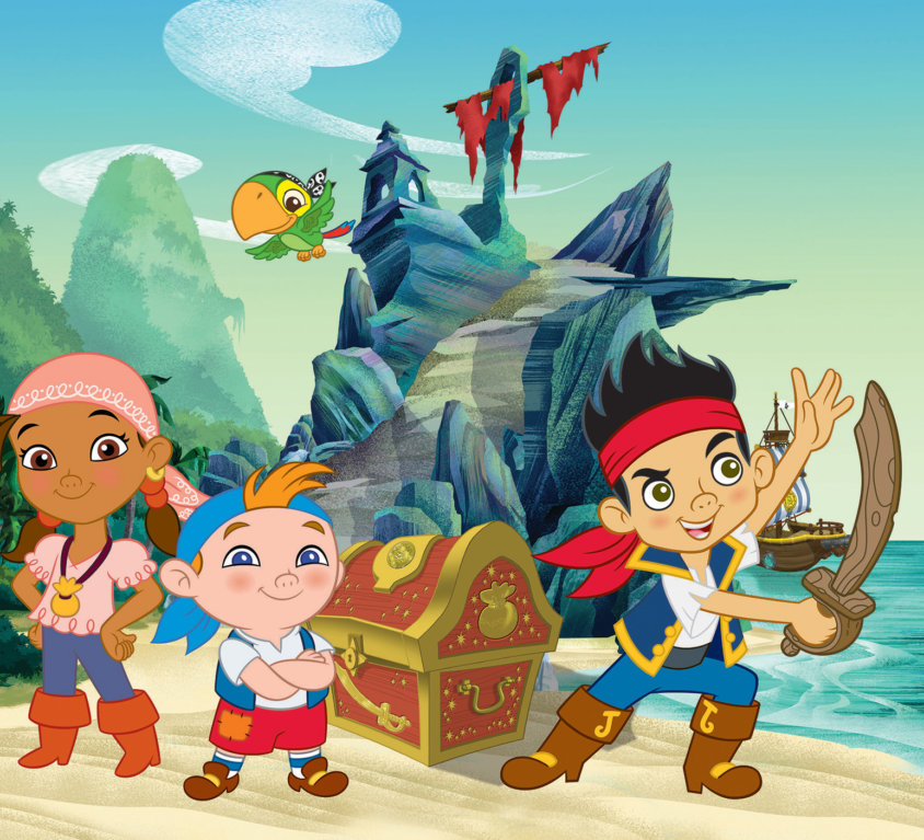 Jake And The Neverland Pirates Veggdekor