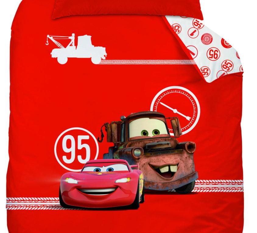 Komplett Sengepakke Med Lightning McQueen Bilseng