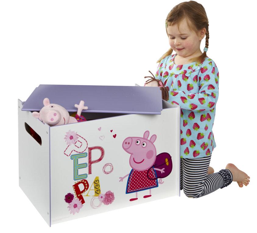 Komplett Barnerom Med Peppa Pig Barneseng