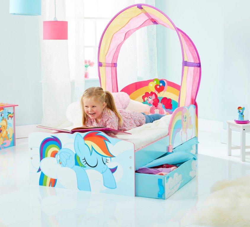 Nyhet: My Little Pony Barneseng Med Oppbevaring