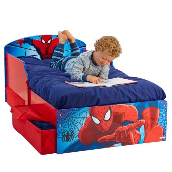 Spider-Man Barneseng Med Oppbevaring