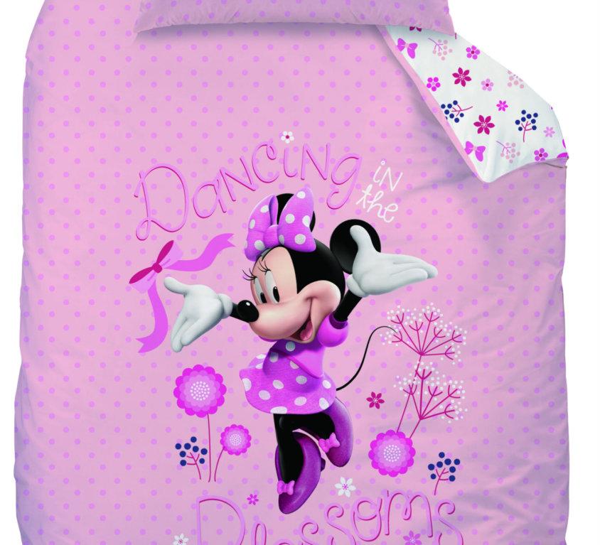 Komplett Sengepakke Med Minnie Mouse Barneseng