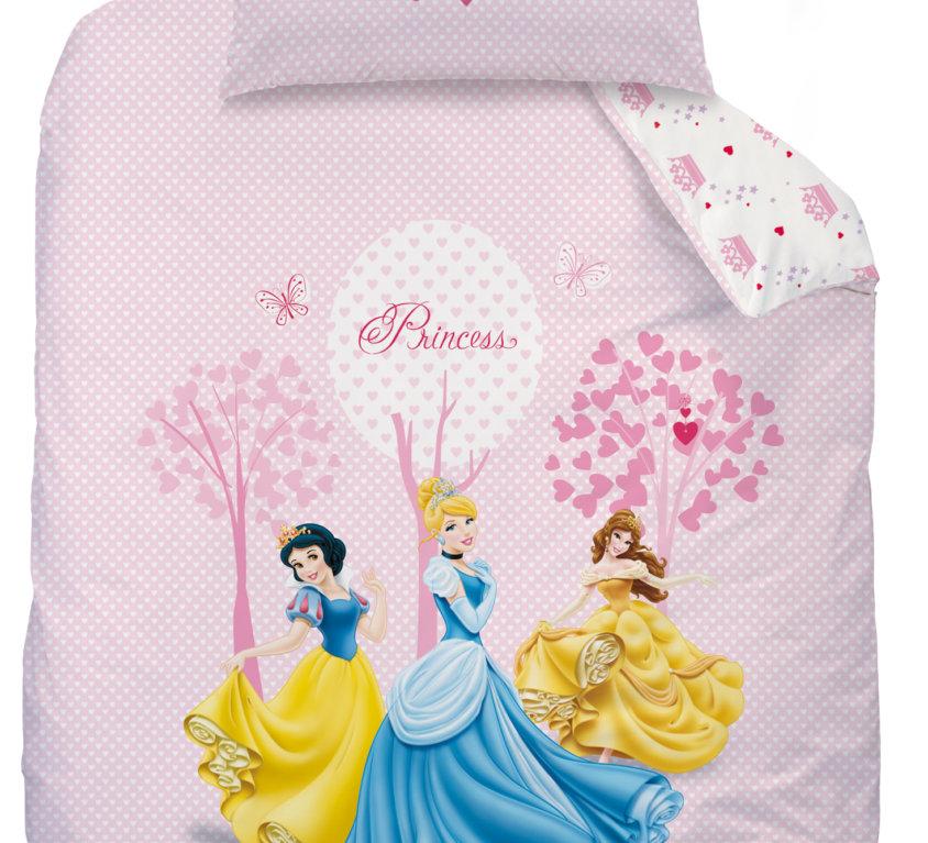 Komplett Sengepakke Med Disney Prinsesse Seng