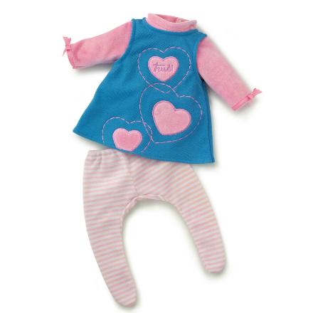 Dukke Antrekk – Hjerte Dress