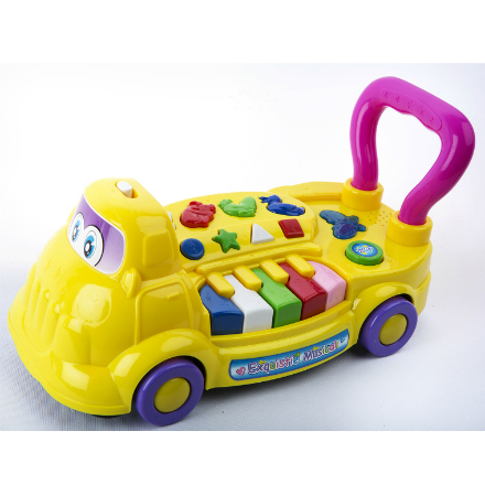 Cartoon Music Car