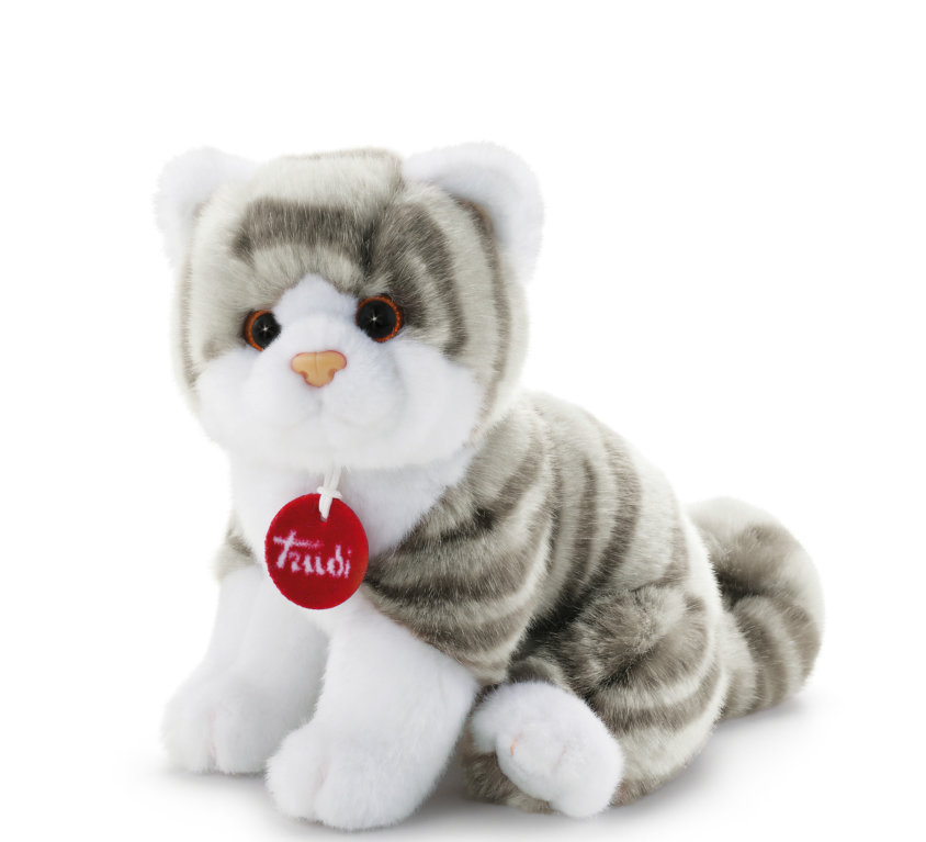 Kitten Brad – Hvit/Grå