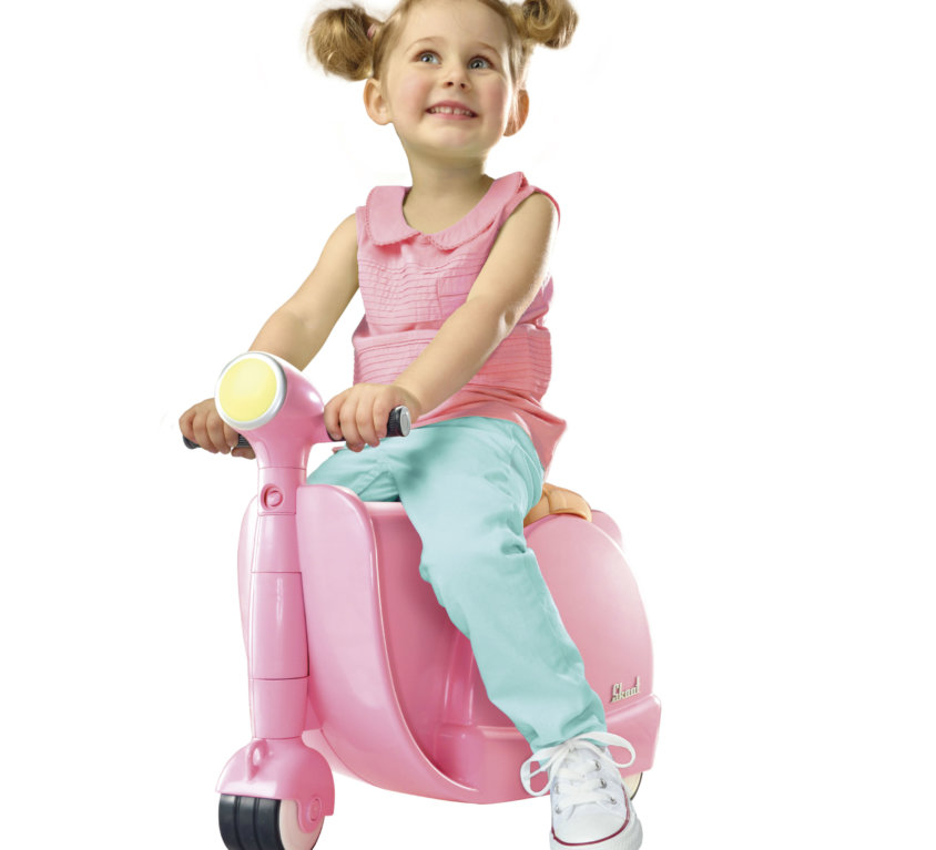 Skoot Barnekoffert – Rosa