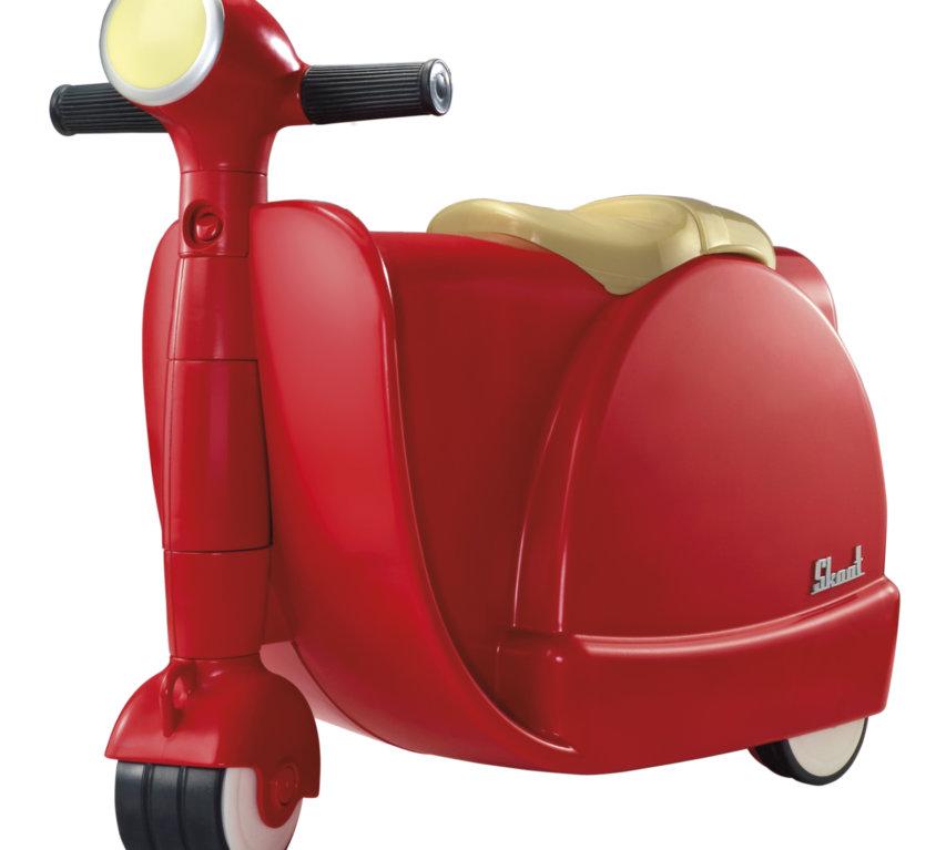 Skoot Barnekoffert – Rød