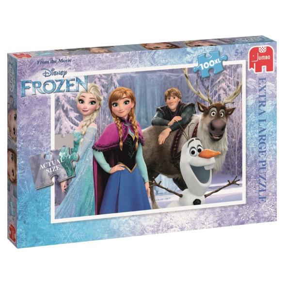 Disney Frozen Puslespill – 100 Biter XL
