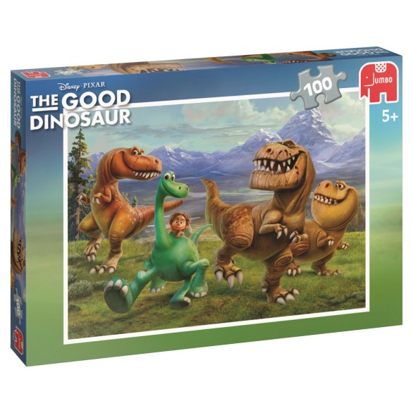 The Good Dinosaur Puslespill – 100 Biter