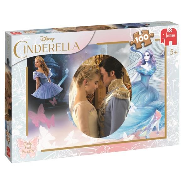 Disney Cinderella Puslespill – 100 Biter