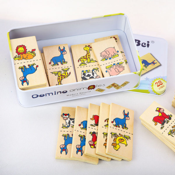 Domino Animals – Minnespill I Tre