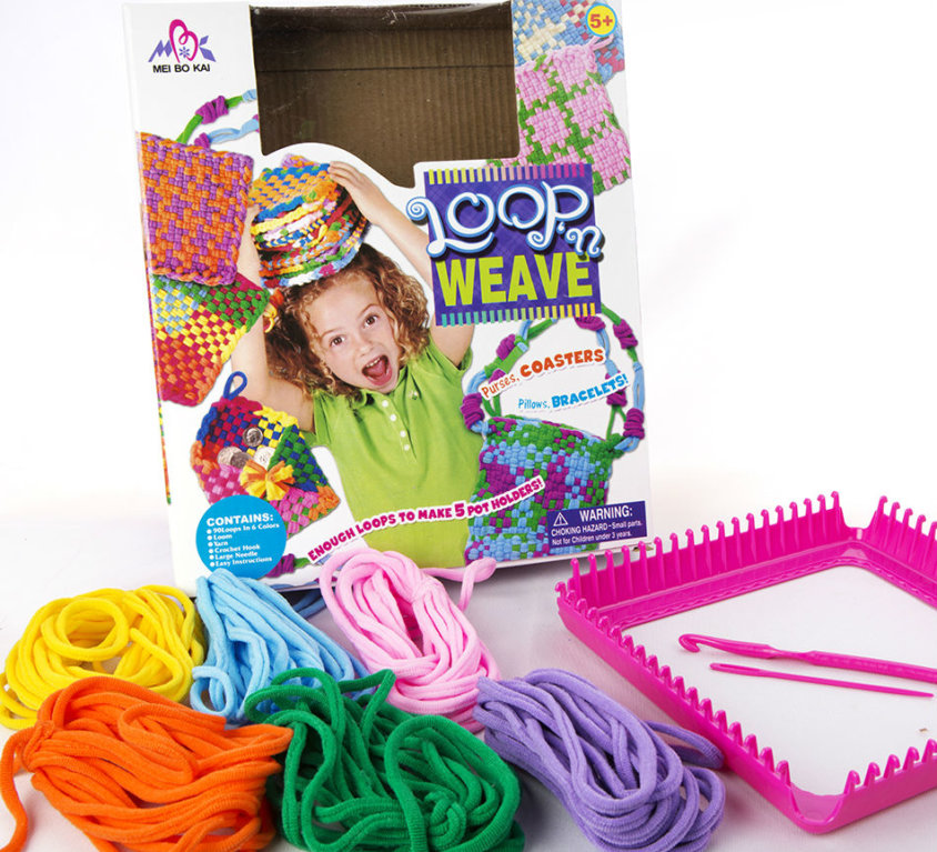 Vev Sett For Barn – Loop'n Weave
