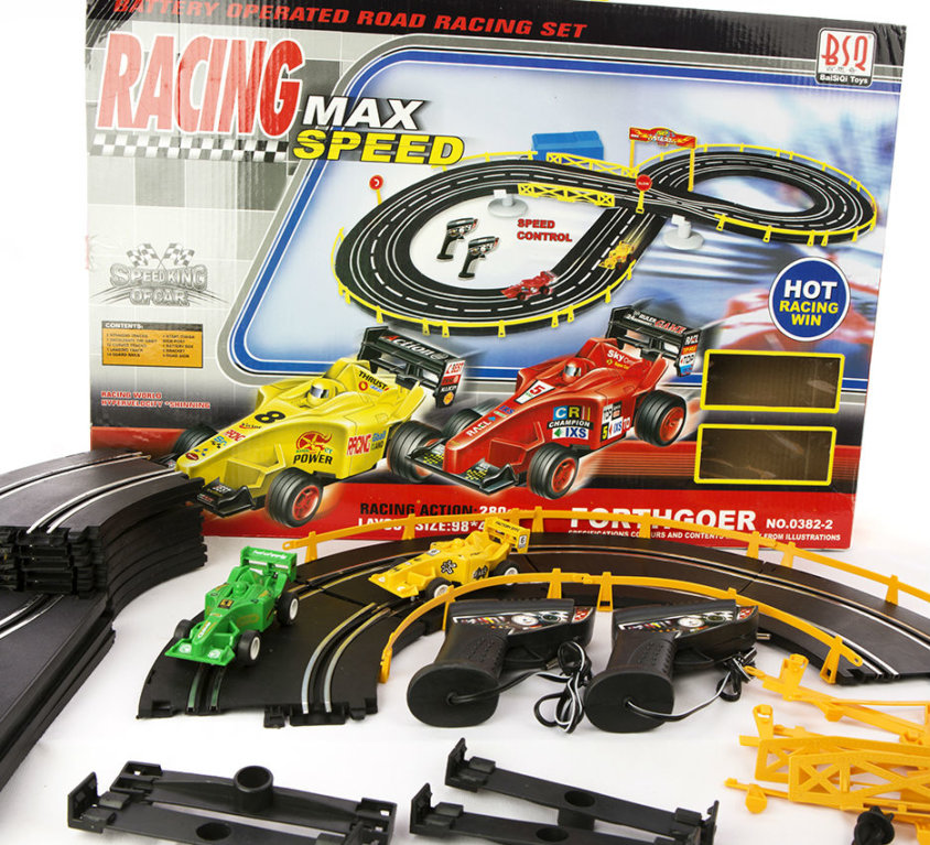 Bilbane Med Racerbiler